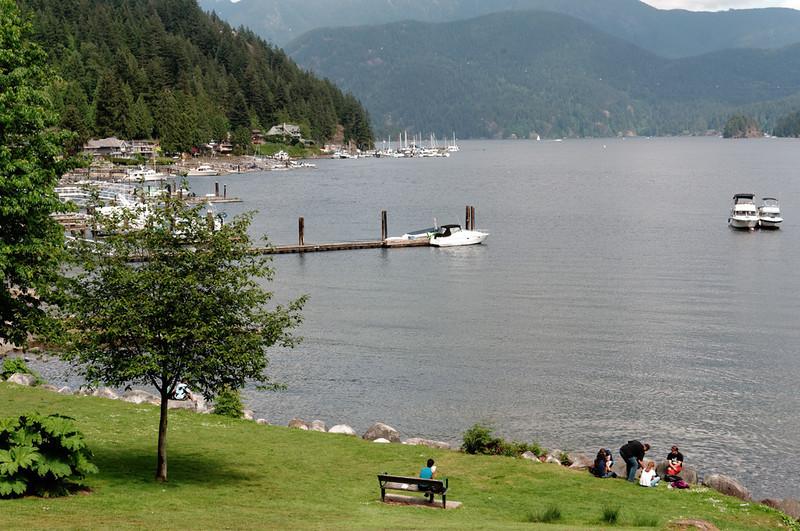 Deep Cove, North Vancouver, BC, May 20, 2013.