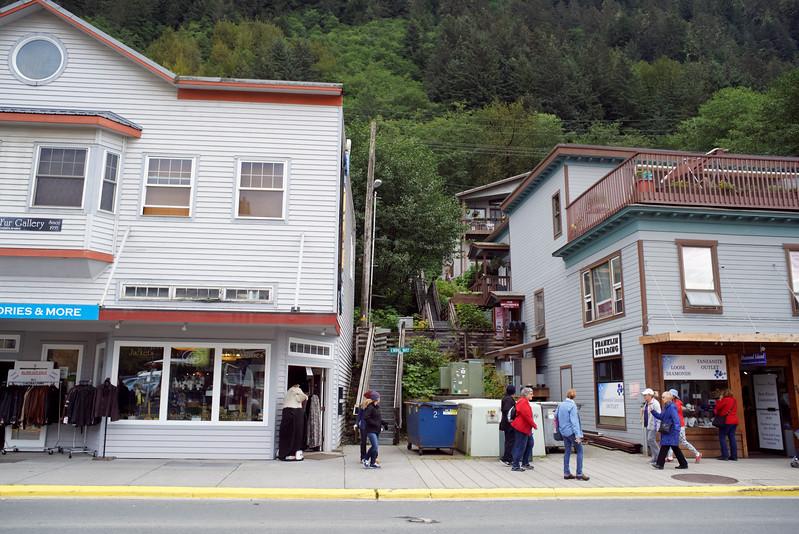 Juneau. Disney Cruise Line trip to Alaska, August 15-22, 2016.