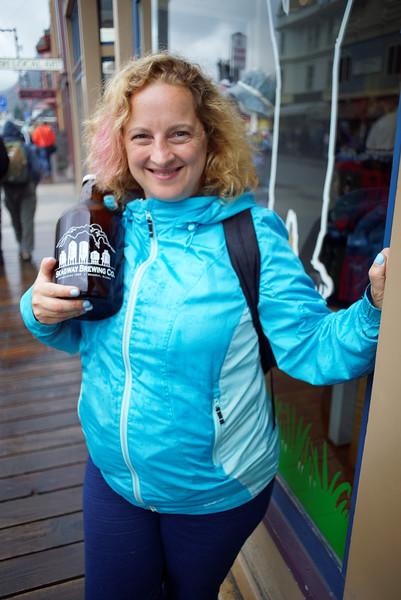 Skagway. Disney Cruise Line trip to Alaska, August 15-22, 2016.