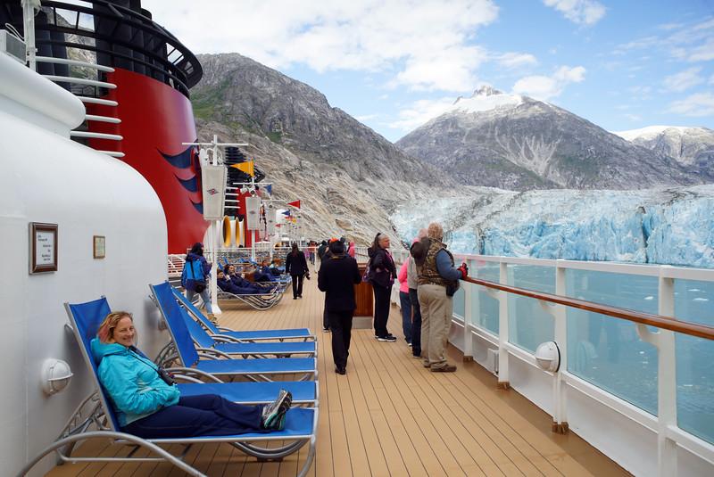Endicott Arm and Dawes Glacier. Disney Cruise Line trip to Alaska, August 15-22, 2016.