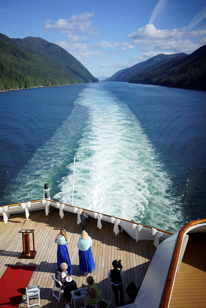 The aftermath of an on-board wedding.<br /> <br /> Vancouver Island and Inside Passage. Disney Cruise Line trip to Alaska, August 15-22, 2016.
