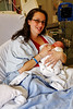 Emika Riley's first day, St. Paul's Hospital, Vancouver BC, March 27, 2010.