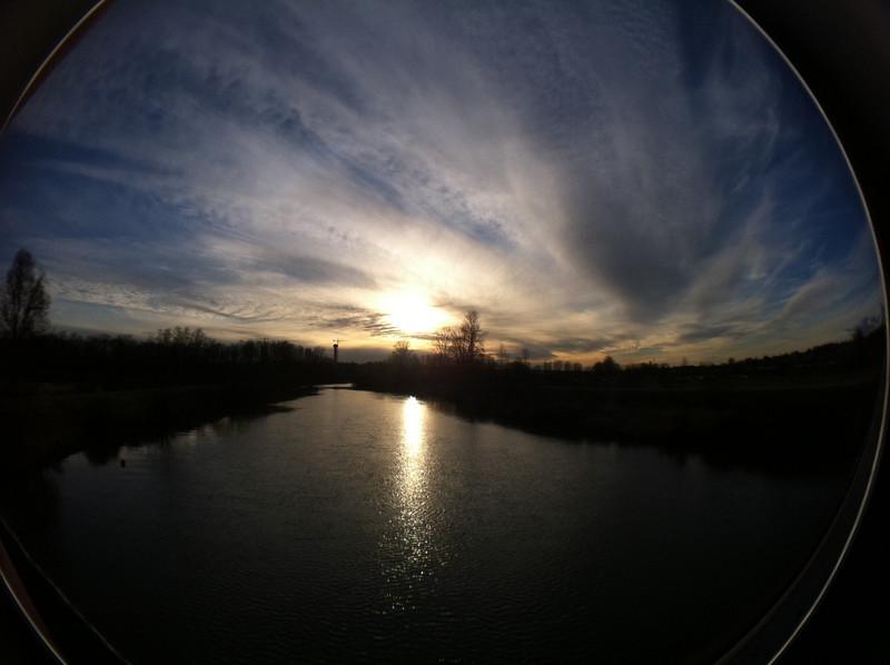 Colony Farm Regional Park, Coquitlam BC, December28, 2010.<br /> <br /> Shot with a fisheye lens attachment.