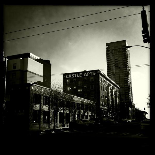 More Belltown buildings, Seattle WA, March 31, 2012.