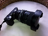 Okay, here's the rundown: Arsat 30mm f/3.5 fisheye lens, Pentacon-to-Mamiya adapter, Mamiya-to-EOS adapter, EOS-to-NEX adapter, Sony NEX 5N.<br /> <br /> February 12, 2012.