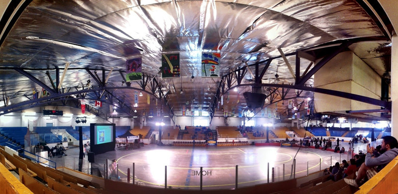 Kerrisdale Arena before the first Terminal City Roller Girls bout of the year, April 6, 2012.