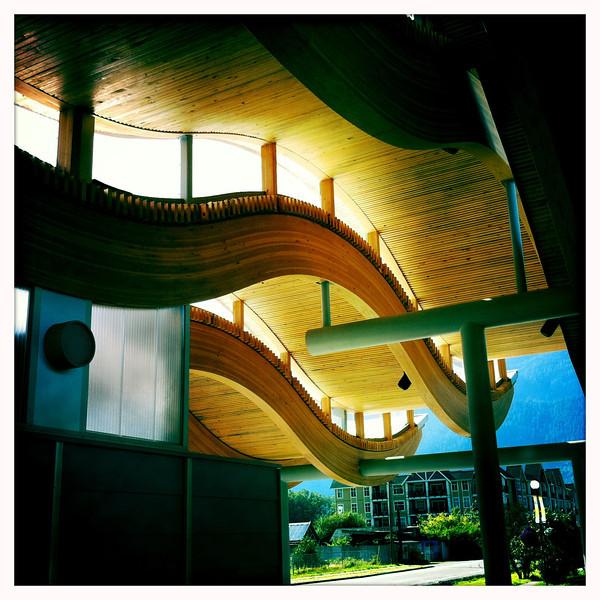 O'Siyam Pavilion, Squamish BC, August 27, 2011.