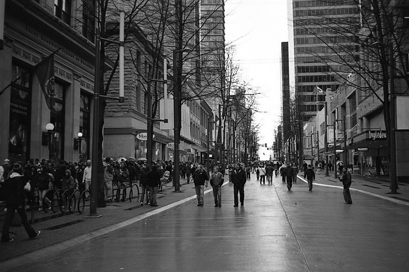 Photos from around Vancouver during the Olympics, March 2010.