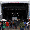 Place de la Francophonie, Granville Island, 2010 Olympics, Vancouver BC, February 13, 2010.<br /> <br /> Doing soundcheck for some band that I have never seen before and will probably never see again. If you know who they are, let me know.