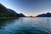 Sunset at Porteau Cove BC, July 17, 2010.