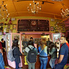 The interior of Voodoo Doughnuts.