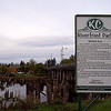 Kurt Cobain Park in Aberdeen, WA.