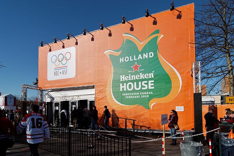 Holland Heineken House, O Zone, Minoru Park, Richmond, BC, February 21, 2010.
