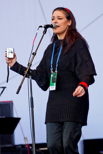 Kelly Brock, O Zone, Minoru Park, Richmond, BC, February 21, 2010.