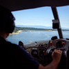 Approaching Savary Island.