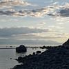 Sunset at Sutherland beach.
