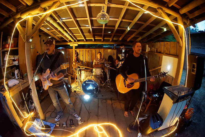 The Adam Woodall Band at Riggers.