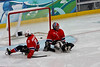Sledge hockey, Canada vs Norway, 2010 Paralympics, Vancouver BC, March 16, 2010. Canada wins 5-0.<br /> <br /> :(
