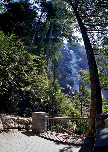 Shannon Falls, Squamish BC, August 11, 2010