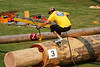 Chokerman's race, Squamish Days Novice & Intermediate Logger Sports, Al McIntosh Loggers Sports Grounds, Squamish BC, July 31, 2010.