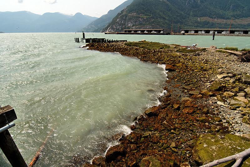 Nexen Beach, Squamish BC, July 31, 2010.