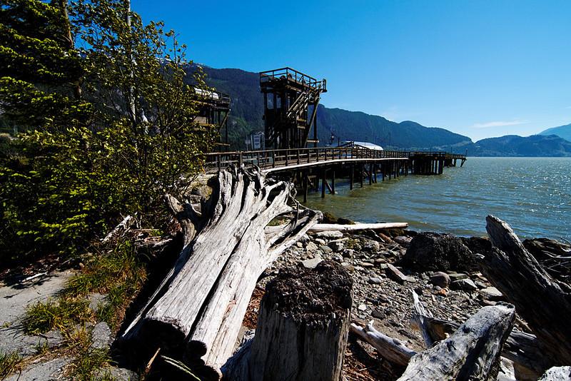 Nexen Beach, Squamish BC, June 12, 2010.