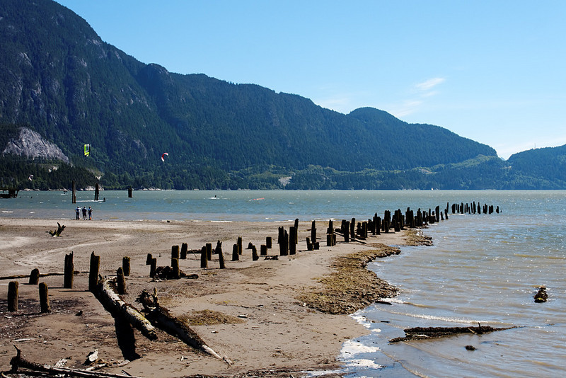 Nexen Beach, Squamish BC, June 12, 2010.