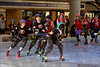 Terminal City Roller Girls open scrimmage, Robson Square, Vancouver BC. October 3, 2009.