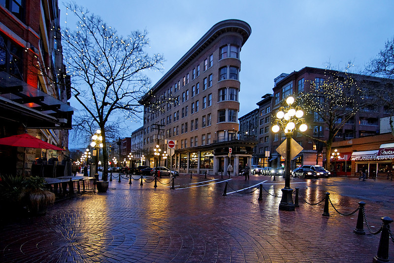 Gastown, Vancouver BC, February 27, 2010.