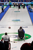 Wheelchair curling, Italy vs Switzerland, 2010 Paralympic games, March 14, 2010.