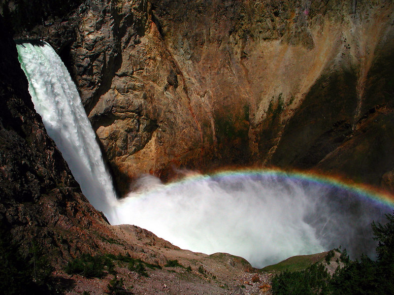 5d 02 GCY Lower Falls Rainbow