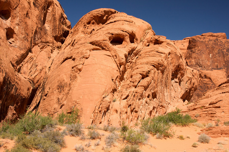 Valley of Fire Spalling