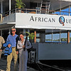 Our adventure ended with a gentle sunset cruise down the Zambezi River.