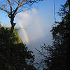 Next morning.....The mist was lighter than it had been the evening before, which made for spectacular rainbows.