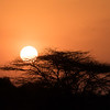 "First Kenyan sunset.  We thought this  was good, but the ones later in the trip were magnificent (see ""2017 Masai Mara"" journal and the ""Additional Photos"" gallery)."