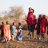 In addition to their height, Masai warriors are famous for their amazing ability to jump high into the air from a standing start.