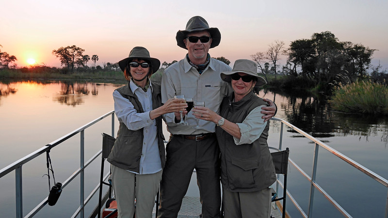 We decided to go for an afternoon boat ride instead of a game drive.  It turned out to be both.