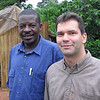 Our driver in Uganda, Matteo (he was GREAT!), and Akos, our trip organizer and guide throughout.
