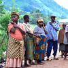 These are Pygmies who were forced to leave their mountain home by the ruling regime.