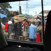 The market outside Entebbe.