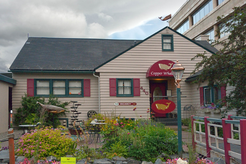 This was our Anchorage bed-and-breakfast inn, conveniently located in the downtown part of the city.  We spent 3 nights in Anchorage between the various segments of our trip.
