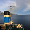 Heading out into the Beagle Channel.  Several hours after dinner, we'll leave the channel and enter Drake Passage, the wildest stretch of water in the world.  It will take us nearly 2 days to cross Drake Passage before entering the Bransfield Straight on our way to Snow Hill Island.