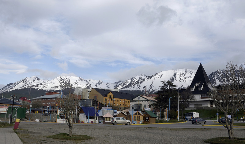 Ushuaia is the southern-most town in the world, nestled near the end of the Andes mountain chain.