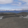 We left Livingston Island and sailed back into the Deception Island caldera where we hiked to the top for a magnificent view of Deception Island and beyond.