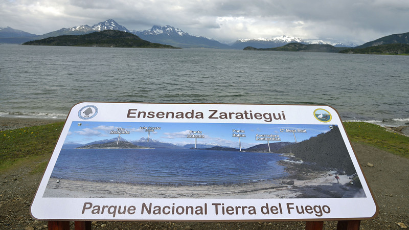 Most trips heading out from Ushuaia begin with a tour of Tierra del Fuego National Park on the morning of departure.  The park entrance is located just a short distance from town.