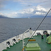 By 5:30 PM we were sailing through the Beagle Channel heading for much rougher waters.