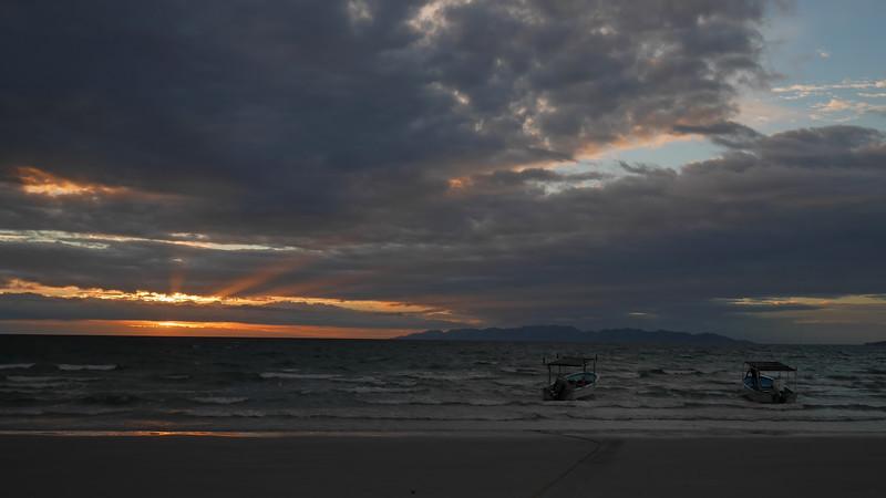 First sunrise.
