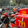 "We'd never seen ""McDelivery"" before."
