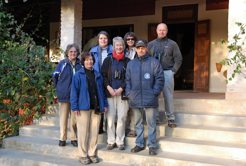 Our group as we prepare to depart for Northern India.