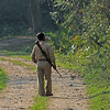 In the other 2 parks, the guards were more a formality than a necessity.  In Kaziranga, they were essential, both to protect us and to protect the animals.
